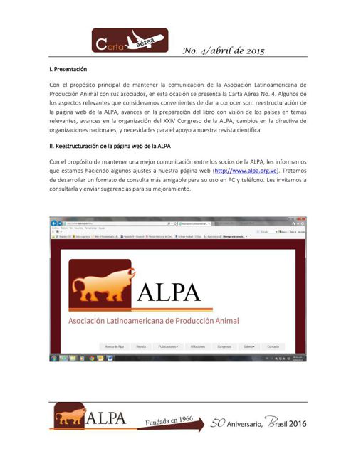 Carta Aérea_ALPA_No 4 abril 2015