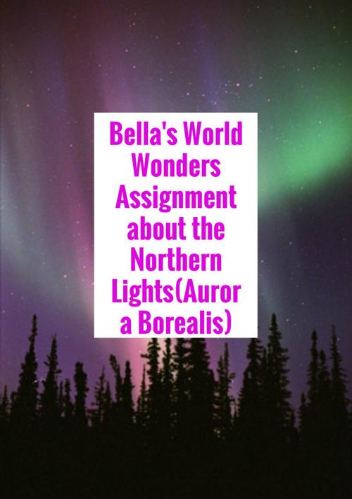 Bella's World Wonder Assignment