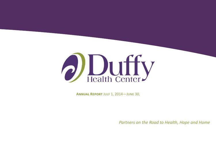 Duffy Health Center Annual Report FY 2015
