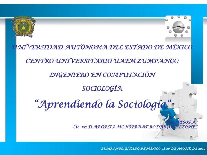 Nociones Básicas de Sociología