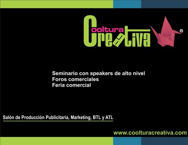 FERIA COOLTURA CREATIVA 2013