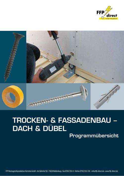 Trocken- & Fassadenbau - Dach & Dübel