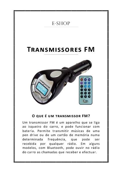Transmissores FM