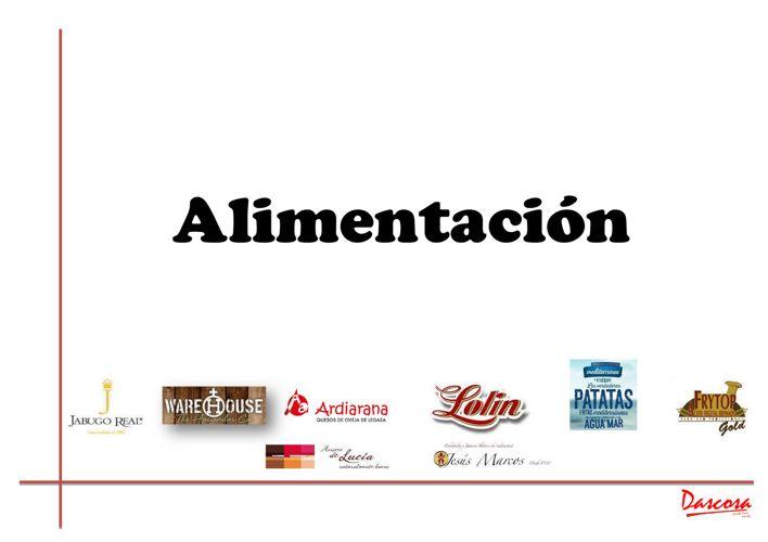 CATALOGO ALIMENTACION