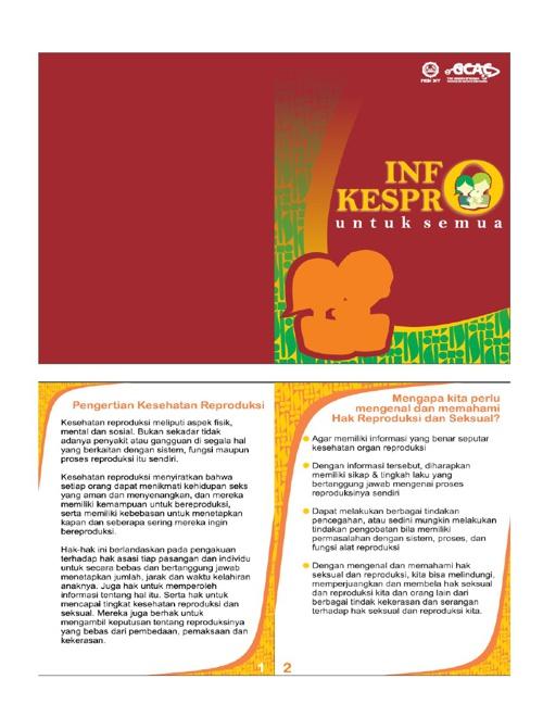 Booklet Kespro