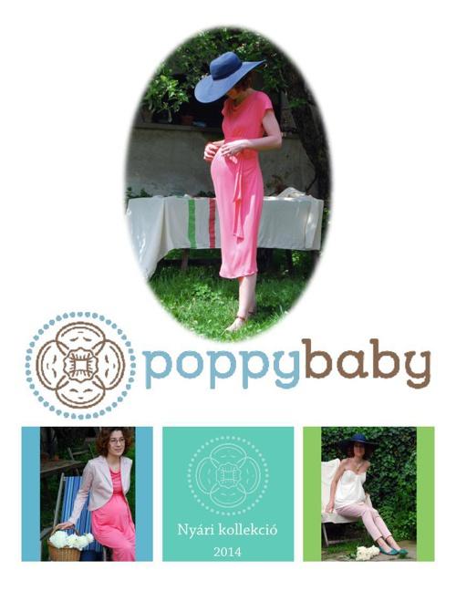 Poppybaby-kismamaruha nyari kollekcio 2014