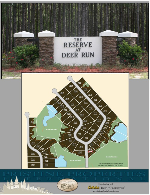 Deer Run Floor Plans