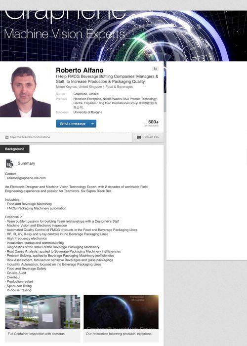 Roberto Alfano LinkedIn Profile ext. ver.