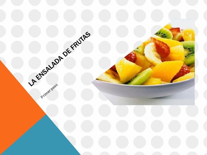 ensalada de frutas