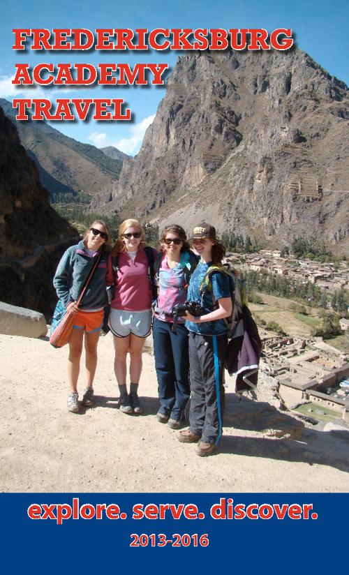 Fredericksburg Academy Student Travel Opportunities