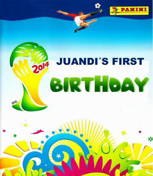 Invitación Juandi para Beny y Julio