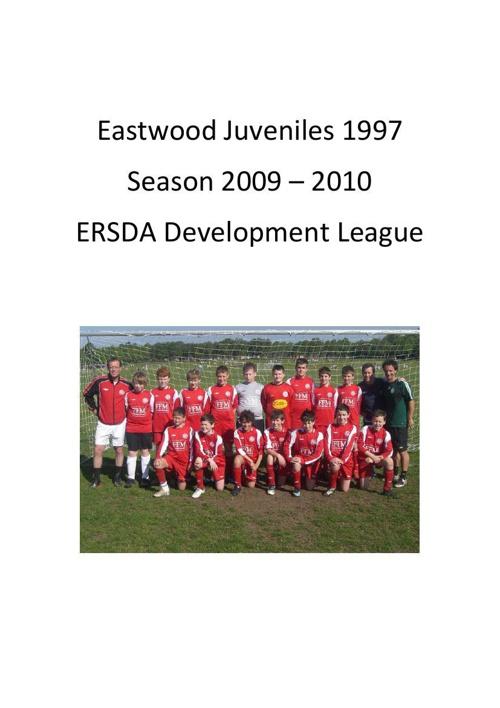 Eastwood 97 Season 2009-2010