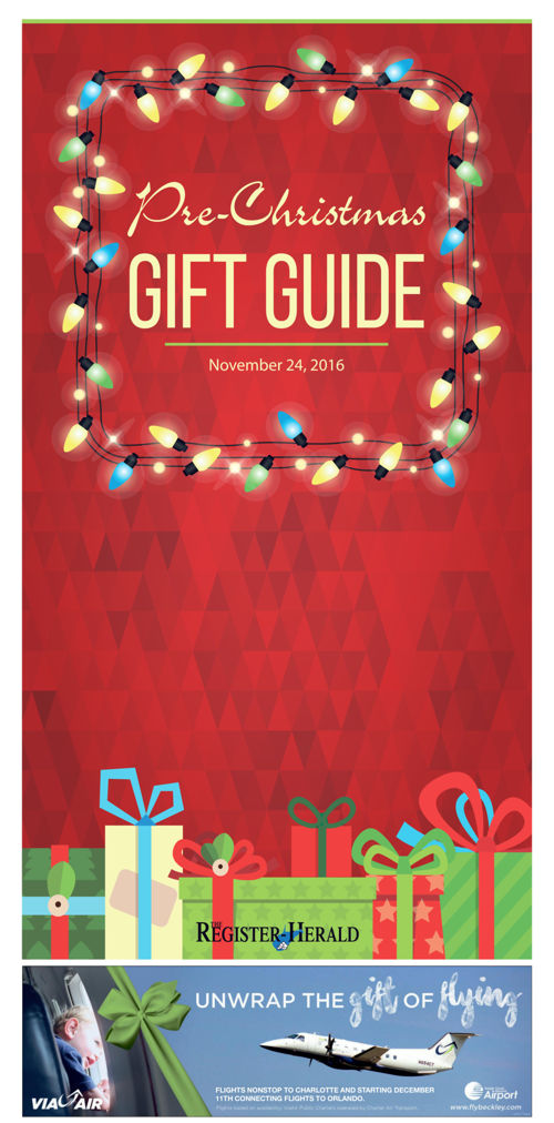 Pre-Christmas Gift Guide