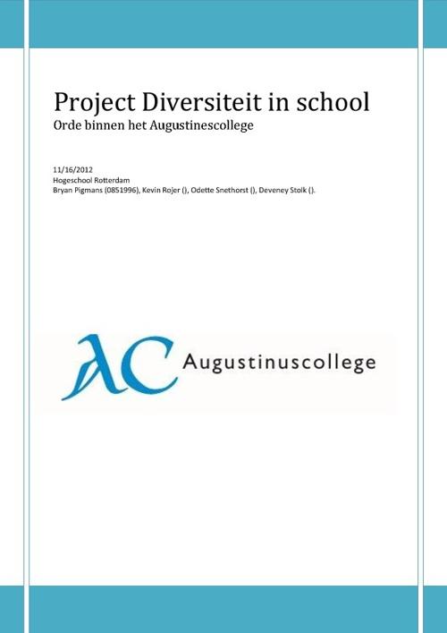 Project Diversiteit
