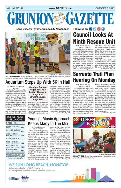 Grunion Gazette | October 8, 2015