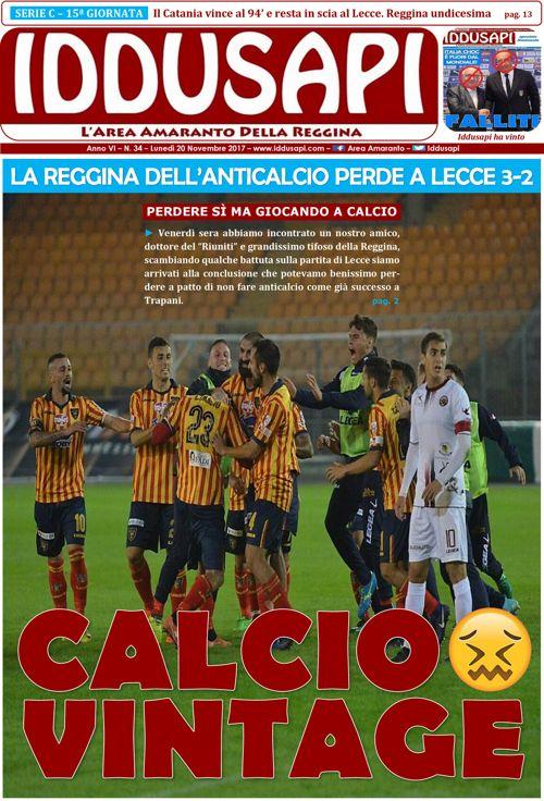 34. Lecce-Reggina 3-2