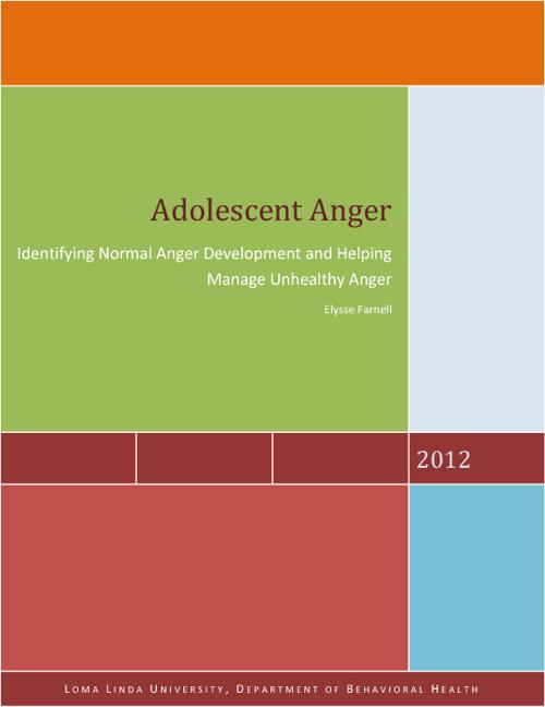 Adolescent Anger Magazine