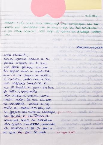 Lettera a Elisa B