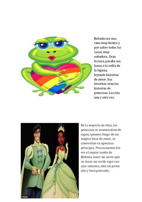 Una rana, un sapo y una historia de amor