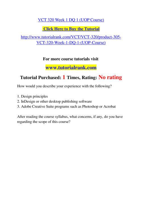 VCT 320 Slingshot Academy / Tutorialrank.Com