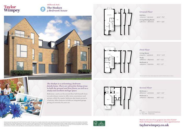 Millbrook Park Housetype's