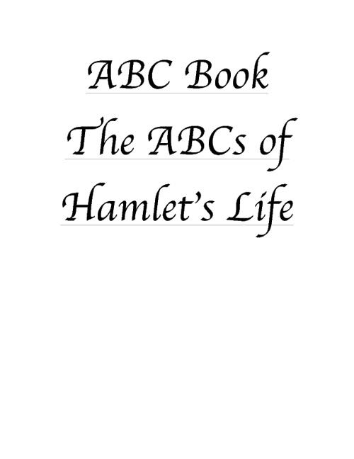 Hamlet ABC Book