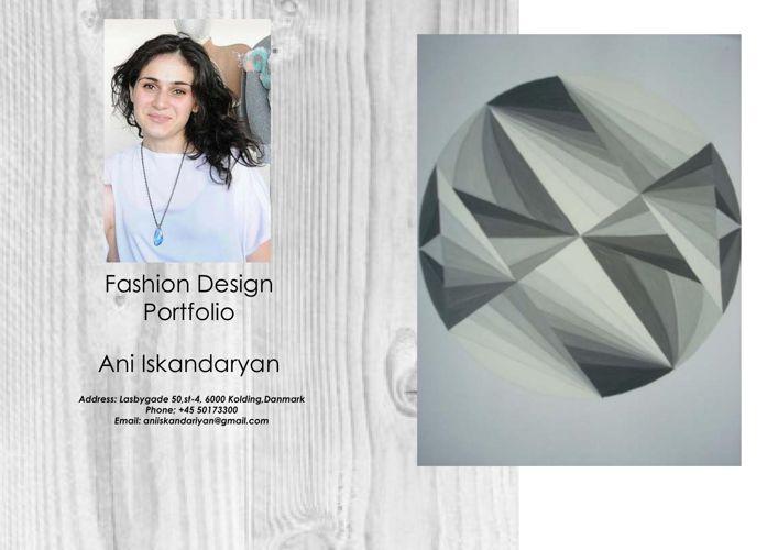 Ani Iskandaryan Portfolio