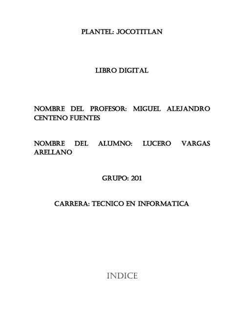 libro digital lucero