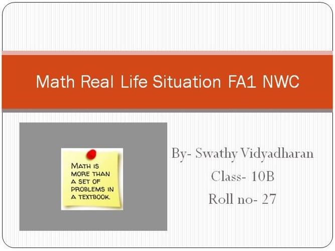 Math NWC RLS FA1