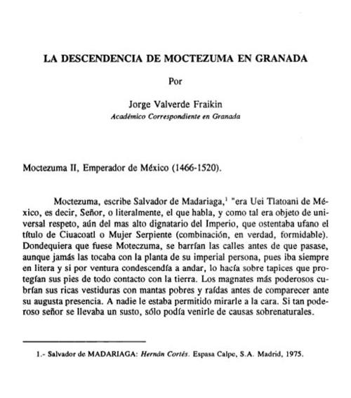 Moctezuma y los Jover