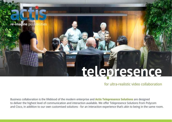 Telepresence For Ultra-Realistic Video Collaboration