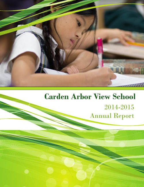 Carden Arbor View School 2014-2015 Annual Report