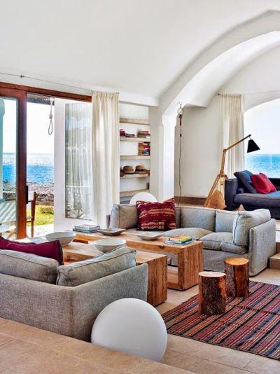 Una original casa en Menorca