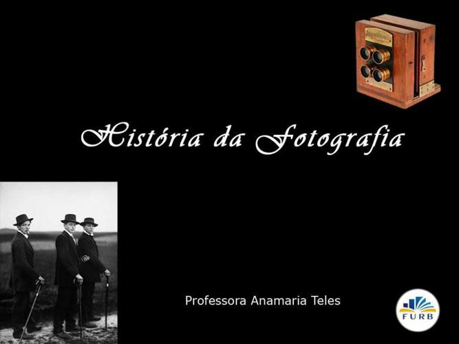 resumo historia da fotografia