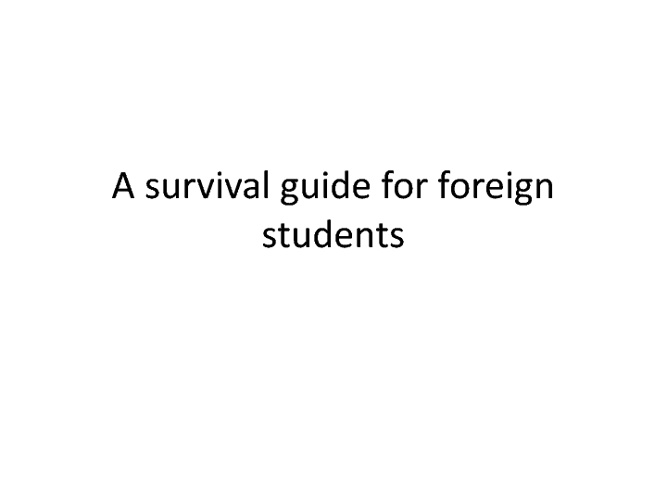 survival guide for foreigners in Portugal