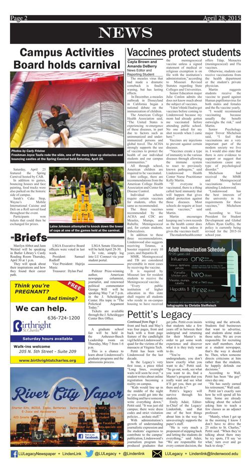 April 28 issue of the Legacy