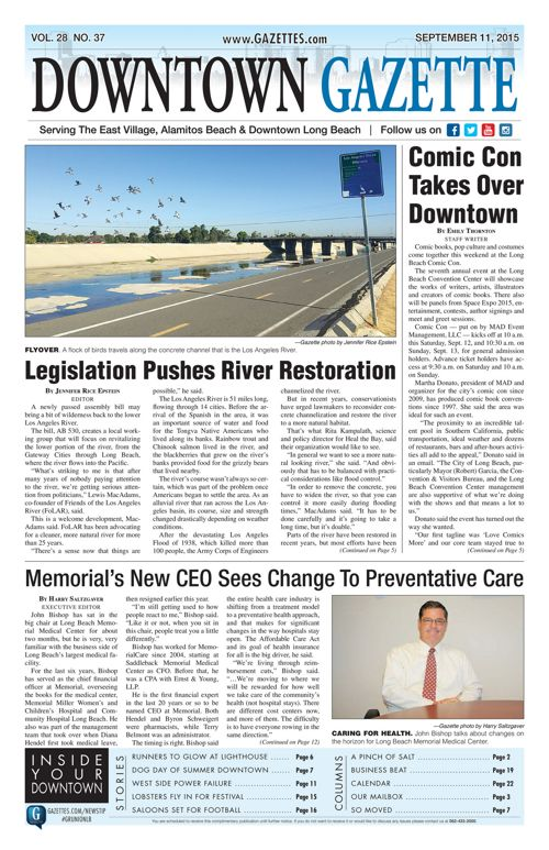 Downtown Gazette  |  September 11, 2015