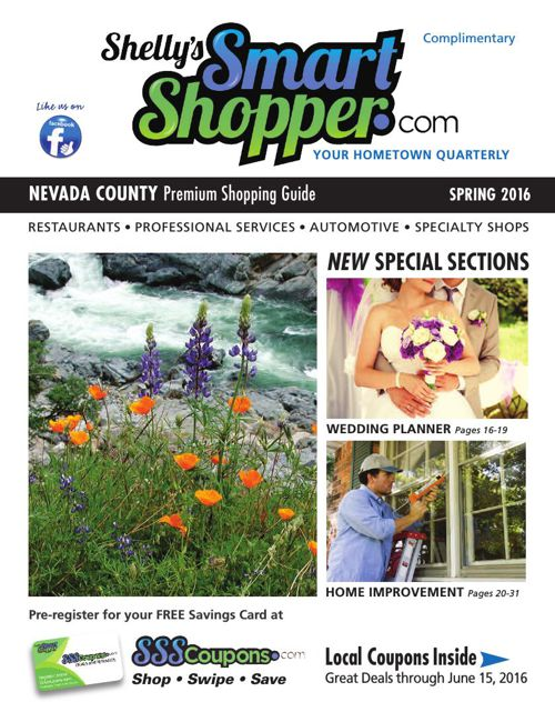 Shelly's Smart Shopper Nevada County Spring 2016 Coupon
