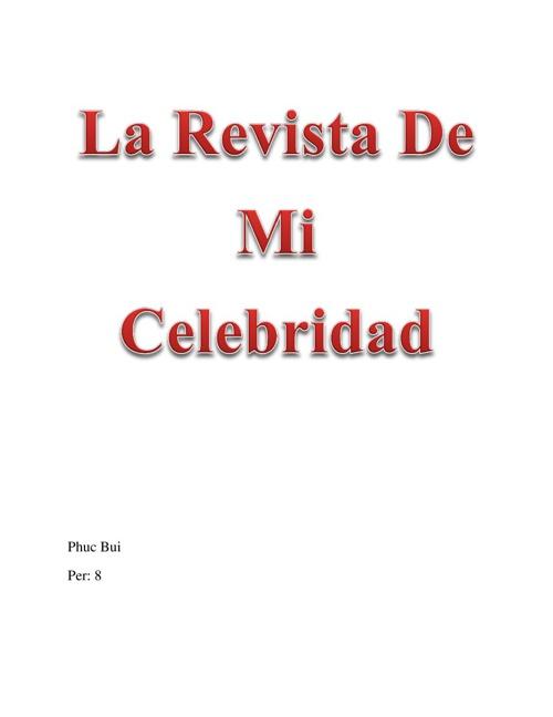 La Revista De Mi Celibridad