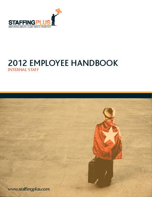 2012 Employee Handbook