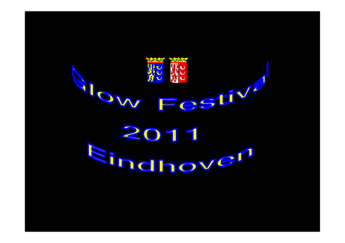 Glow Festival 2011 Eindhoven