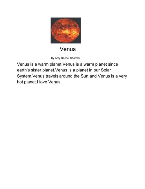 All About Venus
