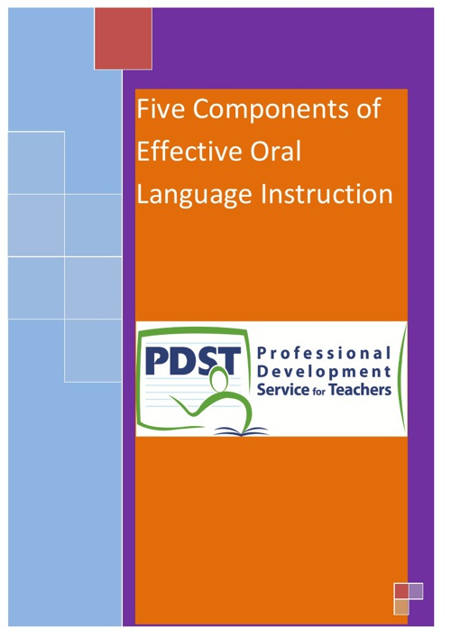 Five components of effective language instruction