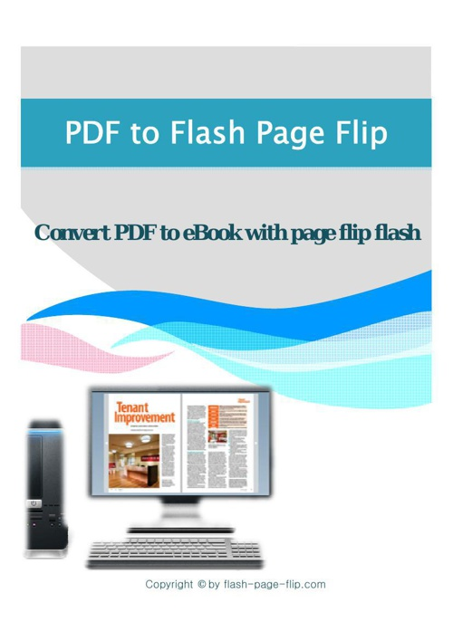 PDF to Flash Page Flip MAC  Introduction