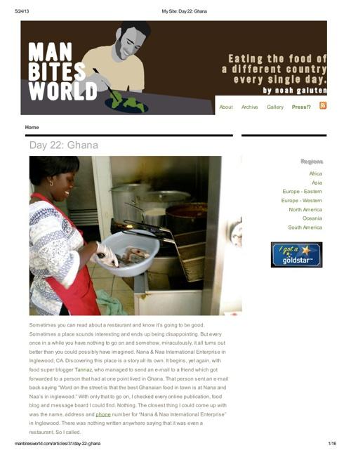 My Site_ Day 22_ Ghana