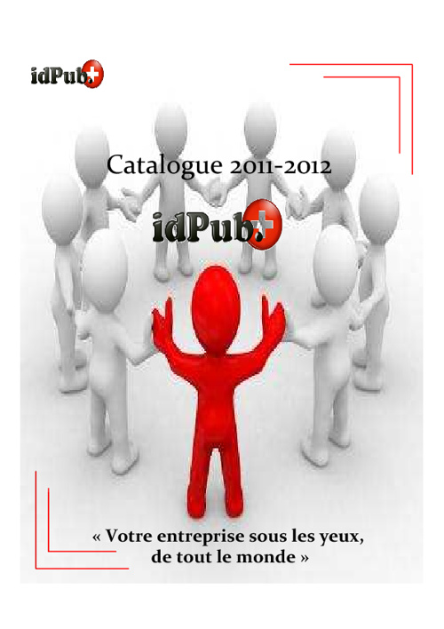 Idpub Catalogue 2011-2012