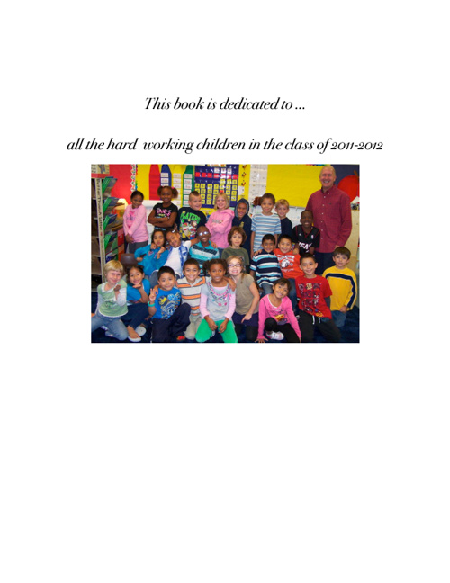 Mr. Hamilton's Class Biographies 2012