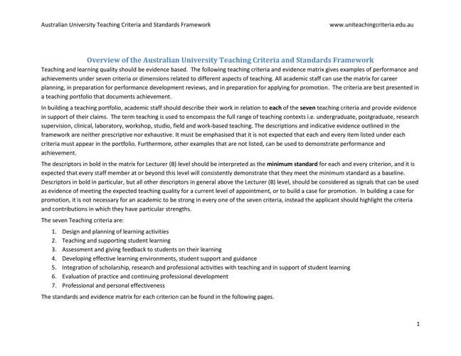 Framework_indicative-standards-arrange-by-criteria
