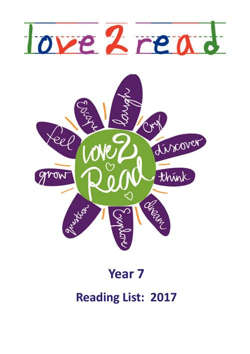 KGGS Year 7 Reading List 2017