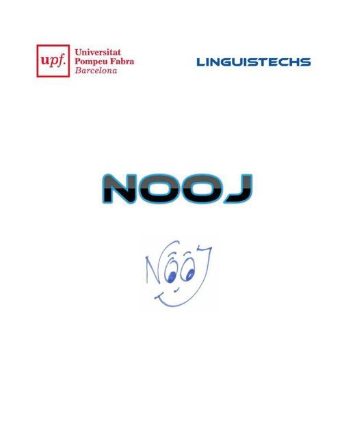 NooJ - Français
